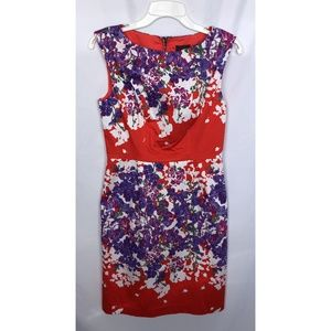 Adrianna Papell Floral Dress Size 4